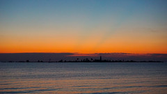 Two Weeks of Sunsets: Rays in the Afterglow, August 4, 2016 (Craig James White) Tags: canada ontario brucecounty saugeenshores southampton lakehuron sunset clouds afterglow