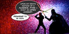 PopFig: Death on the Death Star (JD Hancock) Tags: jdhancock popfig comics lol webcomics geeky photocomics fun funny darthvader lukeskywalker starwars