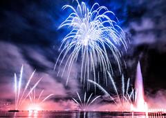 Geneva Fireworks 2016 (thanh_geneva) Tags: genve fireworks 2016 nikon5500 lac lake geneva celebrations ftes festival waterjet jetdeau suisse switzerland rade lman