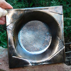 Bronzey Plate (melton-schreiber) Tags: art ceramic handmade plate clay eileenmelton