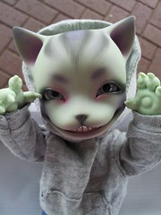Cheshire Minion (Ebzeee) Tags: cat cheshire pi tiny bjd anthro pipos