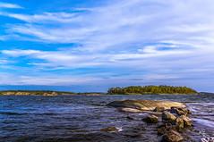 Rocks, sea and sky at Fjrdlng, Stockholm archipelago (Sweden) (Tommie H