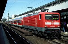 112 125  Hannover  15.04.06 (w. + h. brutzer) Tags: analog train germany deutschland nikon dr eisenbahn railway zug trains hannover db locomotive 112 lokomotive elok eisenbahnen eloks webru