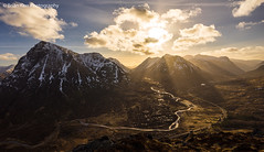 Light and Land (.Brian Kerr Photography.) Tags: light sunset landscape scotland glencoe glenetive scottishhighlands buachailleetivemor landscapephotography abigfave lightandland beinnachrulaiste briankerrphotography