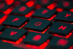 Feel The power OF Asus Rog G751 (Drswidah) Tags: notebook laptop gaming jeddah asus saudiarabia ksa 105mm d7100 asusrogg751gaminglaptop 105mmf28afsvrmicrolens