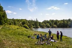 *** (Art (RUS) Potosi) Tags: landscape 2012 guy man cyclist outdoor bike