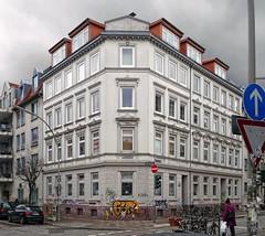 - (txmx 2) Tags: house building architecture corner hamburg altona ottensen ignorethetagsonwhitetheyarefromastupidflickrrobot