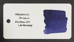 Organics Studio Potassium Lavender - Word Card