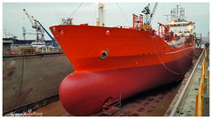 Bow Bracaria Dry Dock (Rhannel Alaba) Tags: turkey dock samsung dry istanbul bow pido alaba note4 rhannel bracaria gemakshipyardtuzla