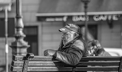 Trieste 20.04.2015 (walter spangher) Tags: sexy sex del square liberty freedom photo nice pics picture babe il uomo teen cellulare una su piazza della telefono milf tempo caff trieste libero telefonino libert panchina trst seduto passare scrutare ignaro