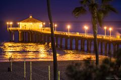DSC04070 (Emiliano Garcia) Tags: beach night pier manhattan konica f25 135mm hexanon a7ii