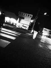 night journey in the city (-ICHIRO) Tags: street digital snap gr iv ricoh 21mm gw2