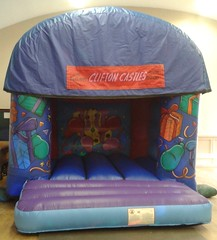 Party Themed Bouncy Castle 12x14. £50 per hire.
