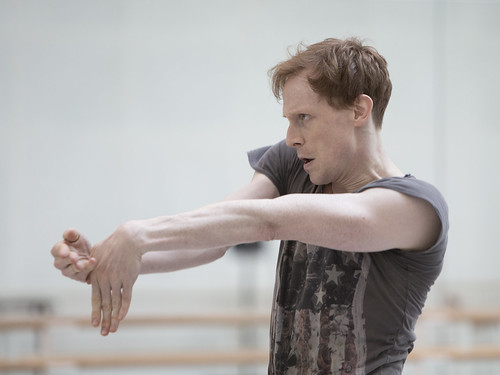 Watch: Edward Watson in rehearsals for Wayne McGregor's Woolf Works