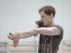 Watch: Edward Watson in rehearsals for Wayne McGregor's Woolf Works