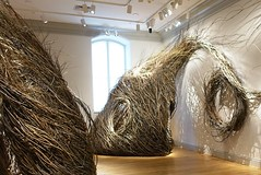 """Shindig"" (2015) by Patrick Dougherty at Renwick Gallery, Washington, D.C.  Architecture weaved from willow saplings (lhboudreau) Tags: art museum architecture washingtondc smithsonian dc washington sticks artwork gallery branch artgallery branches galleries pennsylvaniaavenue installation stick weaving shindig artexhibition installations smithsonianinstitution architectures weavings americanart patrickdougherty largescale artexhibitions smithsonianamericanartmuseum largescaleinstallation willowsaplings largescaleinstallations"