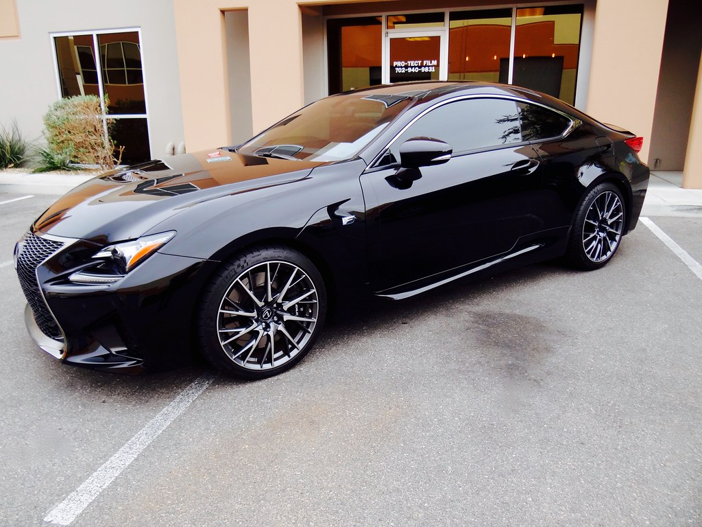2016 Lexus Rcf 15 Nano Carbon Ceramic Window Film
