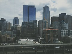 Downtown Seattle (caitlyn.rosee) Tags: seattle city architecture washington downtown vsco vscocam