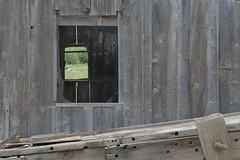 Work bench, view (Rocky Pix) Tags: workbenchview work bench highway287northfencebarnyardshedcorralsfieldsagriculturemayspringrockieslarimercountycoloradostvrainriverbasinrockypixrockymountainpixwmichelkiteleyf16115thsec70mm 70200mm f28 f28g nikkor normalzoom monopod