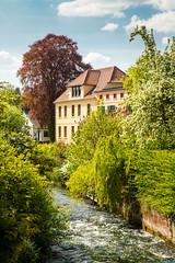 Plau am See 22.jpg (vossemer) Tags: de deutschland wasser natur landschaften huser mecklenburgvorpommern objekte plauamsee bauwerke kanle