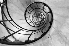 Spiral (f.battistoni) Tags: geometric spiral geometry upstairs e bianco nero geometrie