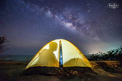 Under the Milky Way, Kenting,Taiwan (ShengRan) Tags: stars landscape nikon taiwan galaxy kenting milkyway d600