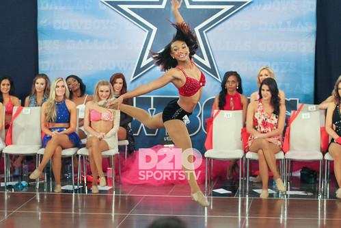 Dallas Cowboys Cheerleaders Tryout 2016