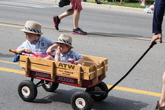 Two Dapper Young Fellows, Memorial Day Parade, Dexter, Michigan, 2015 (marylea) Tags: community michigan parade dexter memorialday 2015 may25 memorialdayparade washtenawcounty