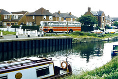 Slide 061-02 (Steve Guess) Tags: uk england canal pegasus gb barton narrowboat nottinghamshire notts plaxton