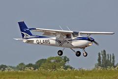 G-LAMS Cessna F.152 II APB Leasing Ltd  Sturgate Fly In 05-06-16 (PlanecrazyUK) Tags: sturgate egcs fly in 050616 lincoln aero club ltd glams cessnaf152ii apbleasingltd fly in