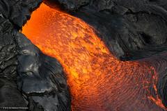 Lava Creatures: The Forge [explored] (carolina_sky) Tags: red orange rock flow volcano hawaii lava glow falls bigisland hilo hover molten kilaueanationalpark paradisehelicopters bruceomori pentaxk3ii pentax150450mm