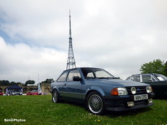 Ford Escort RS1600i (BenGPhotos) Tags: blue hot ford car crystal fast palace hatch sprint rs escort motorsport mkiii mk3 2016 rs1600i a84crd