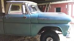 K10 in the barn (grizfan) Tags: chevrolet apache 4x4 1961 k10 c10