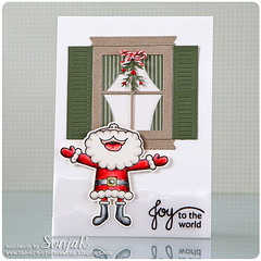 Joy to the world (sonjak_theartofstamping) Tags: card cardmaking christmascard myfavoritethings averyelle luminance papersmooches weihnachtskarte