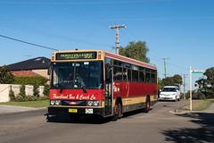 "2016-06-15 Punchbowl 9027 Gungah Bay Rd Oatley West (Dean ""O305"" Jones) Tags: park new west bus buses wales south au transport sydney australia route nsw co harris custom hino coaches pbc punchbowl 955 oatley rg197k mo9027"