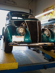 1939 Ford Coupe at All Muffler Service (All Muffler Service) Tags: california shop lincoln restoration citrus heights muffler exhaust catalytic roseville fabrication rocklin compliant converters
