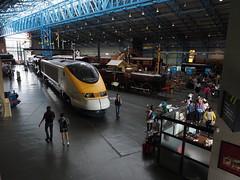 Inside the NRM (Megashorts) Tags: york uk england museum yorkshire railway olympus pro f28 nationalrailwaymuseum omd em10 mzd 1240mm