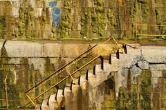 Dry dock staircases (Piraeus port GR) (spicros78) Tags: drydock piraeus port canon steps staircases sunny