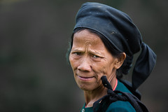 Vietnam: femme de l'ethnie Tay. (claude gourlay) Tags: portrait people face asia retrato vietnam tay asie ethnic indochine caobang ratto tonkin baolac claudegourlay