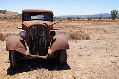 """""""Baby Needs a New Pair of Shoes"""" (nedlugr) Tags: california ca usa hot truck rust shadows dodge ruraldecay dodgetruck dodgebrothers ruralwest dryasdust"""