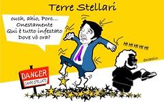 Mal di testa stellare per Renzi dopo Roma e Torino.Nella situazione spinosa in cui si tr (SatiraItalia) Tags: roma torino satira elezioni renzi