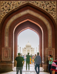 The Taj HDR (Anand Shivalkar) Tags: nikon taj tajmahal agra tokina ultrawide hdr sevenwonders bracketing manualhdr 1116mm d7000