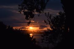 (Elisa G. Fernndez) Tags: sunset cielo