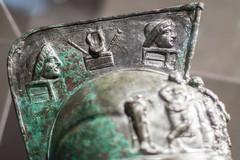 Helmet (castier) Tags: bronze montreal helmet naples mann gladiator herculaneum casque caserne mbam herculanum gladiateur pompeiexhibit expositionpompei