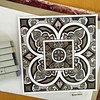 Six Shades of Grey (marusaart) Tags: art illustration square grey sketch artist drawing mandala shades doodle ornament zen draw copic zeichnung zentangle zendala marusaart