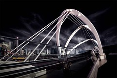 The Seafarers Bridge with new highlights (Leanne Cole) Tags: bridge photographer photos australia images victoria environment fineartphotography environmentalphotography fineartphotographer nikond800 seafarersbridge environmentalphotographer leannecole leannecolephotography