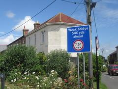 Weak bridge (cohodas208c) Tags: signs freshwaterbay weakbridge thisissoenglish