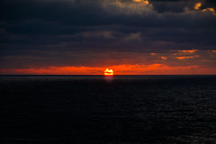 Beautiful sunset (malc1702) Tags: sunset sundown glow orangeandredglow ocean clouds nature cruising nikond7100 nikkor18140mm travel scenic beauty magicmoments