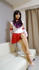 DSC08488 (mimo-momo) Tags: crossdressing crossdresser crossdress costume transvestite japanese sailor mars