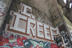 Creep (NJphotograffer) Tags: graffiti graff pennsylvania pa philly philadelphia pier abandoned urban explore creep roller